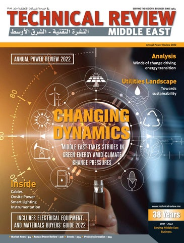 Technical Review Middle East cover