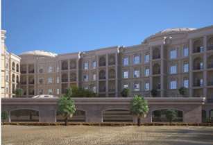 The luxury villa project of Dubai Properties is on track