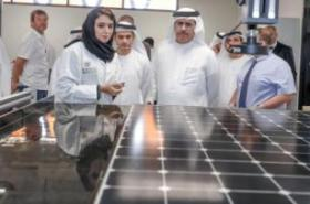 DEWA CEO inspects R&D Centre at Dubai solar park