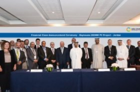 Masdar completes financing to develop Baynouna solar project in Jordan