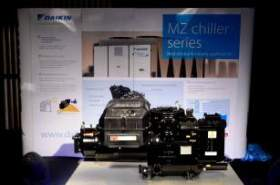 Next gen air cooled screw chillers from Daikin exclusively for Middle East