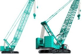 Kobelco launches new hydraulic crawler cranes