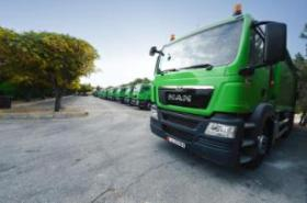 MAN Truck & Bus Jordan supplies 100 new vehicles to Greater Amman Municipality