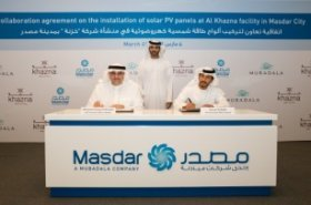 Masdar to install rooftop PV systems at Khazna