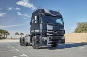 Mercedes-Benz launch special edition Actros to celebrate 20th anniversary