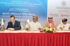 OPWP to develop Salalah Independent Water Project in Oman