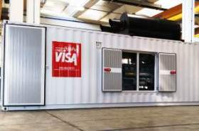 Visa SpA gensets power cement factory in Kuwait