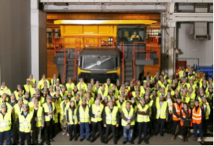 International launch of Volvo rigid hauler range