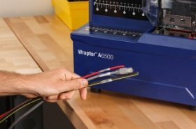 Faster cable identification with Brady's new wire identification printer applicator