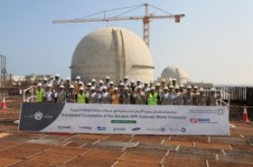 ENEC achieves major progress in construction of Barakah Nuclear Energy Plant