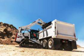 Bobcat launches improved T870 compact tracked loader
