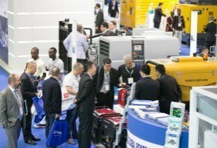 Middle East Electricity exhibitor stand