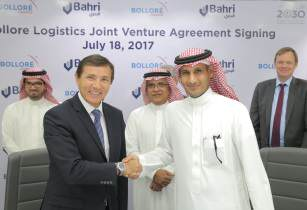 Bahri and Bolloré Logistics launch joint venture in Saudi Arabia
