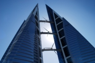 Bahrain World Trade Centre. (Image source: Johannes Brenner)