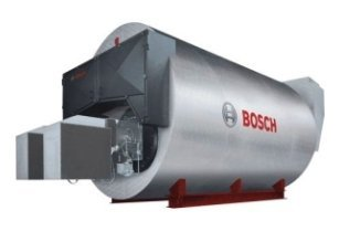 Bosch fire tube superheated water boilers