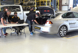 Continental commissions first driverless tyre test vehicle