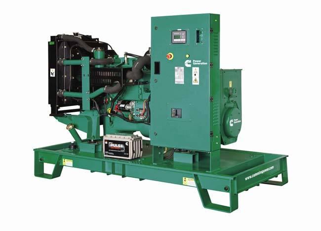 Cummins Power Generation 75 kVA genset range