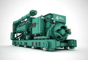 Cummins HSK78G gas generator provides sustainable power solution