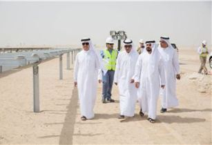 DEWA CEO inspects work at MBR Solar Park Phase 3