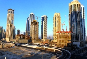 Middle east building boom to peak over next five years for Ec harris dubai