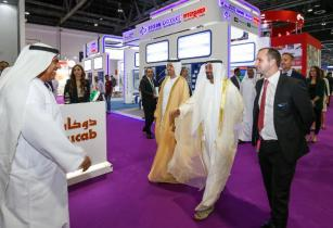 HH Sheikh Ahmed bin Saeed Al Maktoum President of Dubai Civil Aviation Authority explored the latest technology breakthroughs and solutions from more than 1100 exhibitors at MEE