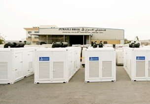 A new diesel generator will be among the highlights on Jubaili Bros stand. (Image source: Jubaili Bros)