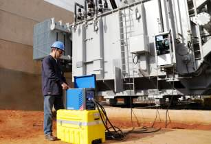Quick and easy three-phase testing of power transformers