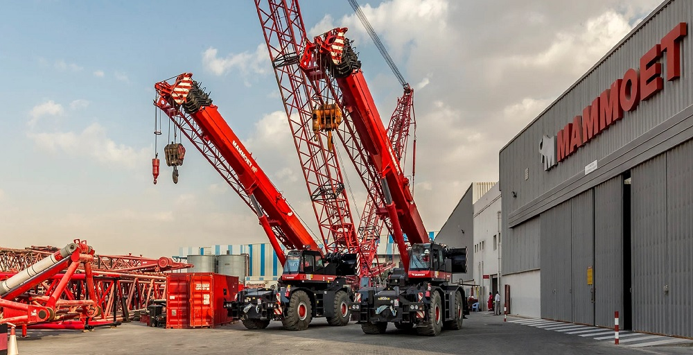 Mammoet introduces eight cranes to expand fleet in the Middle East and Africa