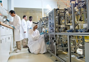 Masdar carbon capture lab