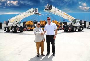 Al Faris receives Middle East�s first Liebherr LRT rough-terrain cranes