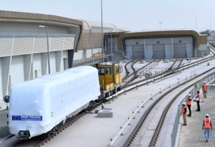 Alstom's first metro trainset comes on time in Dubai