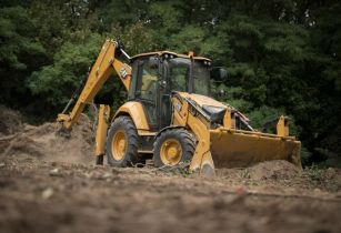 cat backhoe 3ap