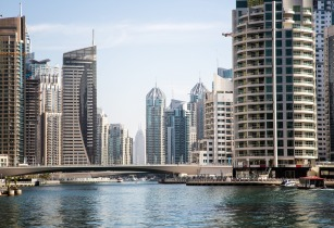 dubai canal project nears comletion