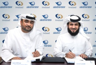 imdaad with emirates post group epg during the signing of the 6million fm contract