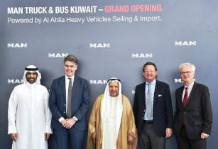Al-Ahlia opens flagship showroom and service centre for MAN Truck & Bus in Kuwait