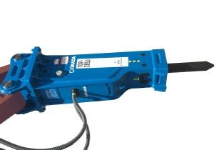 Okada Aiyon Corp launch TOP205J hydraulic breaker
