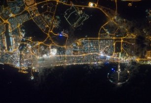 Dubai at Night - NASAs Marshall Space Flight Center - Flickr