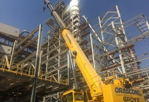 Orascom Construction adds 24 Grove rough terrain cranes to its fleet 1 1