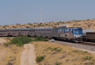 Train in Desert - Clay Gilliland - Flickr