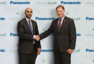 Yahsat Panasonic Avionics broadband connectivity