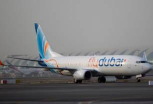 flydubai Plane on Runway - flydubai